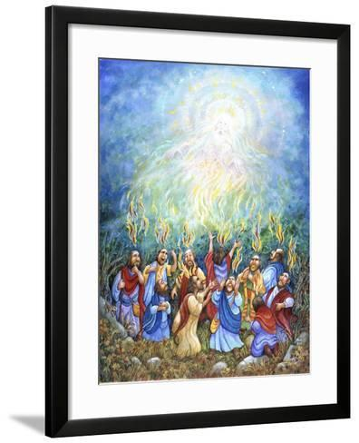 Holy Ghost-Bill Bell-Framed Art Print