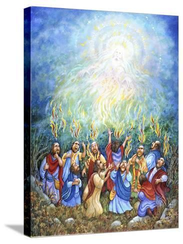Holy Ghost-Bill Bell-Stretched Canvas Print
