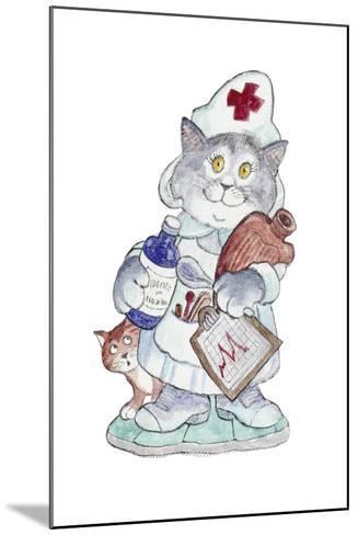 The Nurse-Bill Bell-Mounted Giclee Print