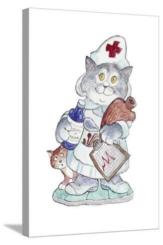 The Nurse-Bill Bell-Stretched Canvas Print