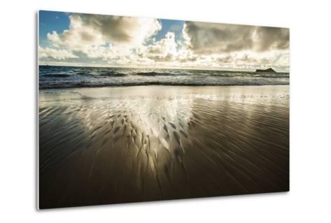 Waimanalo Beach Sunrise-Cameron Brooks-Metal Print