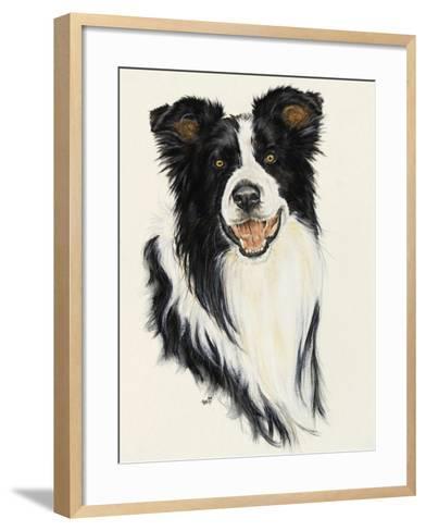 Border Collie-Barbara Keith-Framed Art Print