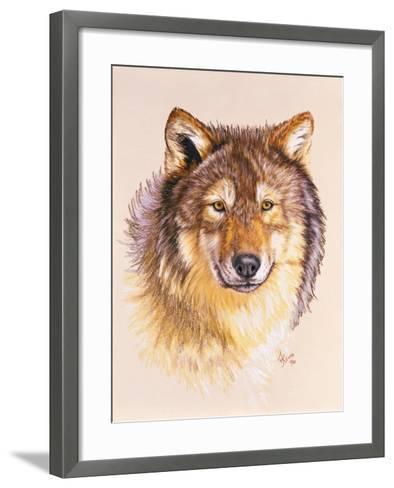 Lobo-Barbara Keith-Framed Art Print