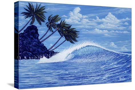 The Perfect Wave-Apollo-Stretched Canvas Print