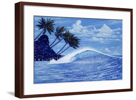 The Perfect Wave-Apollo-Framed Art Print