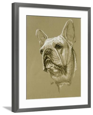 French Bulldog-Barbara Keith-Framed Art Print