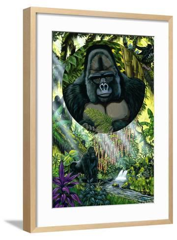 A Question of Survival-Apollo-Framed Art Print