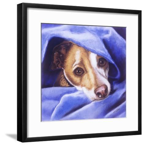Cold? Me?-Barbara Keith-Framed Art Print