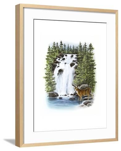 Deer--Framed Art Print