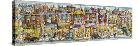Oh, the Street Where I Lived-Bill Bell-Stretched Canvas Print