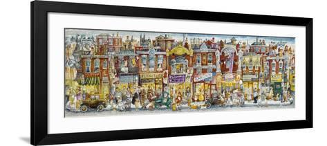 Oh, the Street Where I Lived-Bill Bell-Framed Art Print