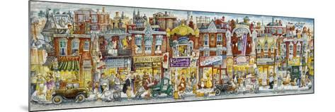 Oh, the Street Where I Lived-Bill Bell-Mounted Giclee Print