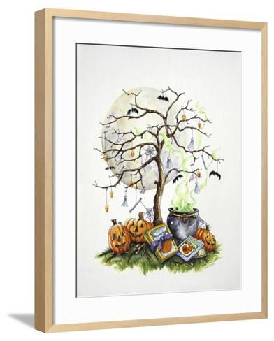 Witch's Brew--Framed Art Print