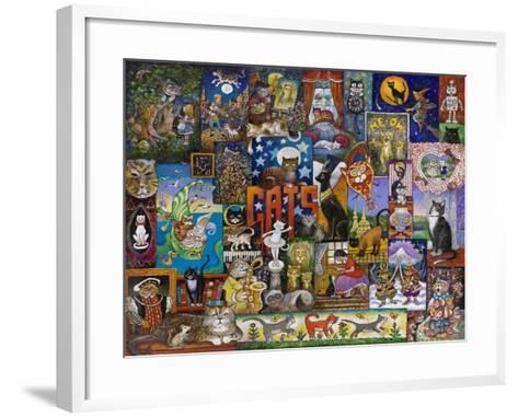 Cats-Bill Bell-Framed Art Print