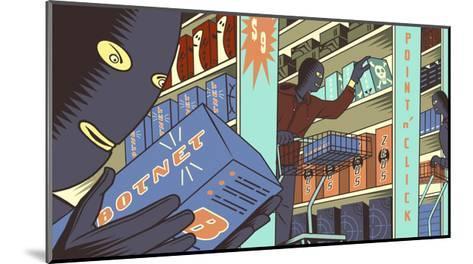 Cybercrime-Bill Butcher-Mounted Giclee Print
