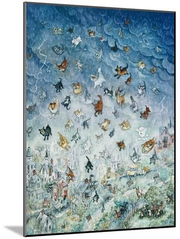 Raining Cats and Dogs-Bill Bell-Mounted Giclee Print
