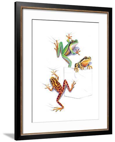 Frogs--Framed Art Print