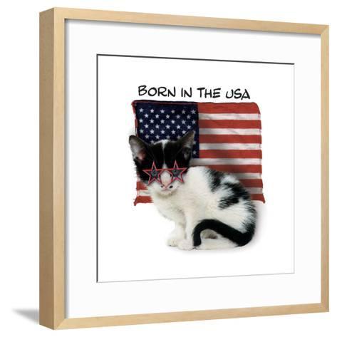 Born in USA--Framed Art Print