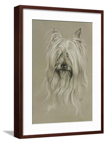 Silky Terrier-Barbara Keith-Framed Art Print