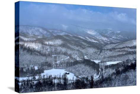 Mountain View-Bob Rouse-Stretched Canvas Print