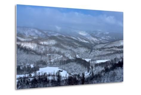 Mountain View-Bob Rouse-Metal Print