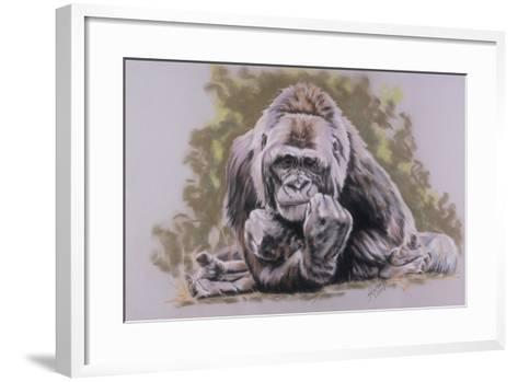 Um-M-M-Barbara Keith-Framed Art Print