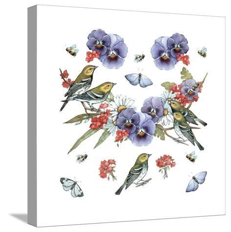 Warblers--Stretched Canvas Print