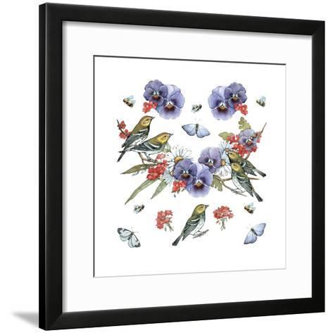 Warblers--Framed Art Print