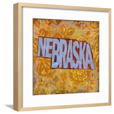 Nebraska-Art Licensing Studio-Framed Art Print
