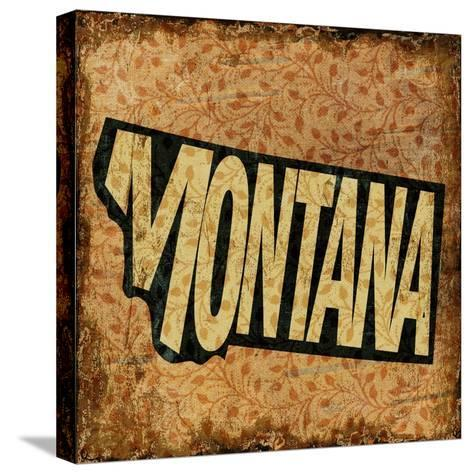 Montana-Art Licensing Studio-Stretched Canvas Print