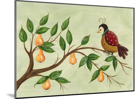 Partridge in a Pear Tree-Beverly Johnston-Mounted Giclee Print