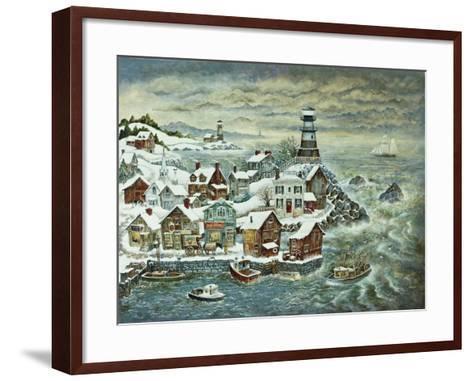 Northern Lights-Bill Bell-Framed Art Print