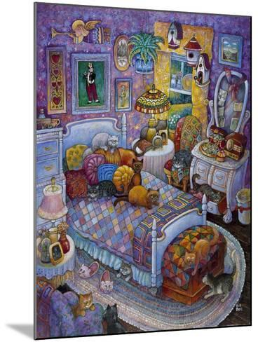 More Cats and Quilts-Bill Bell-Mounted Giclee Print