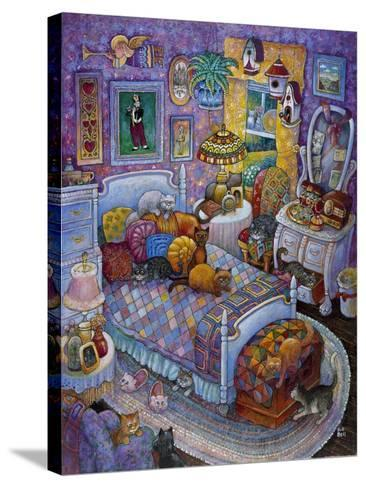 More Cats and Quilts-Bill Bell-Stretched Canvas Print