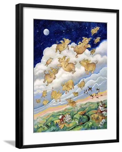 If Pigs Could Fly-Bill Bell-Framed Art Print