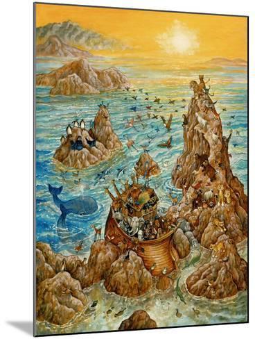 Noah's Sun Day-Bill Bell-Mounted Giclee Print