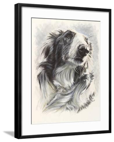 Borzoi-Barbara Keith-Framed Art Print