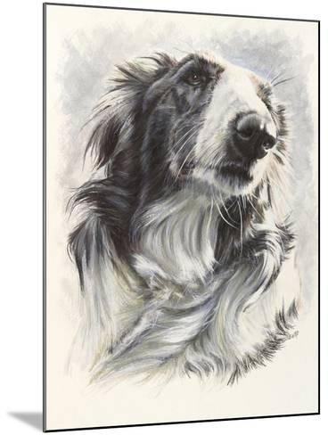 Borzoi-Barbara Keith-Mounted Giclee Print