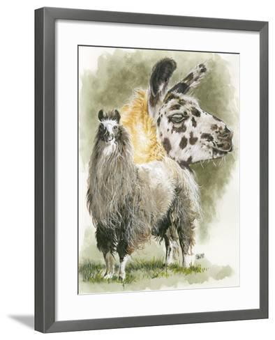 Peevish-Barbara Keith-Framed Art Print