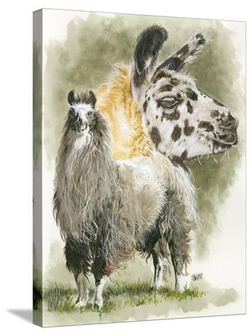 Peevish-Barbara Keith-Stretched Canvas Print