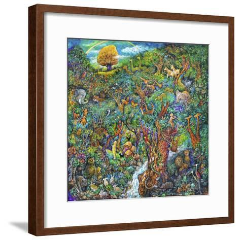 Garden of Eden-Bill Bell-Framed Art Print