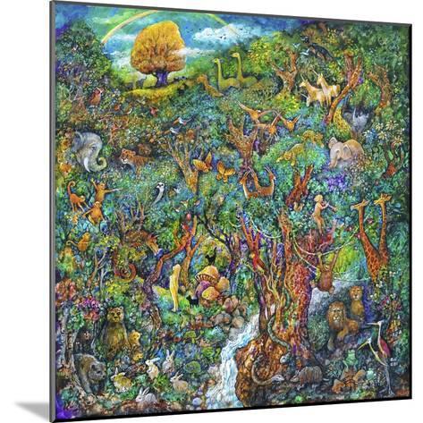 Garden of Eden-Bill Bell-Mounted Giclee Print