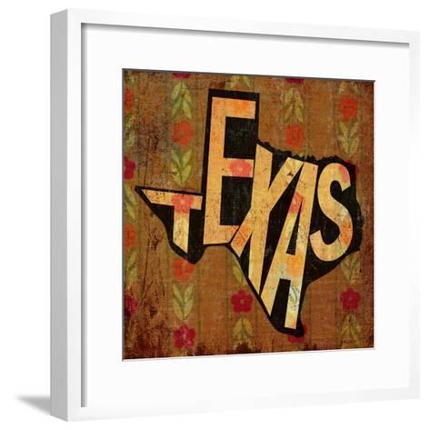Texas-Art Licensing Studio-Framed Art Print