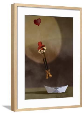Floating Away-Carrie Webster-Framed Art Print