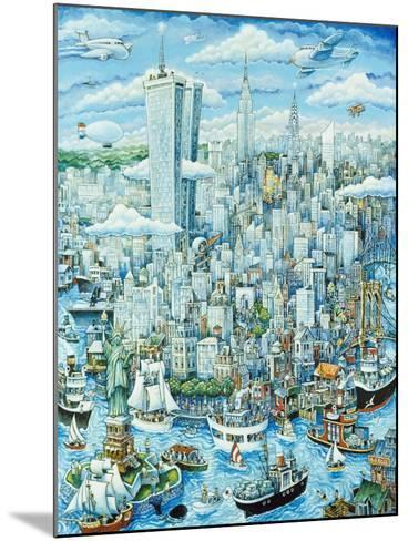 New York, New York-Bill Bell-Mounted Giclee Print