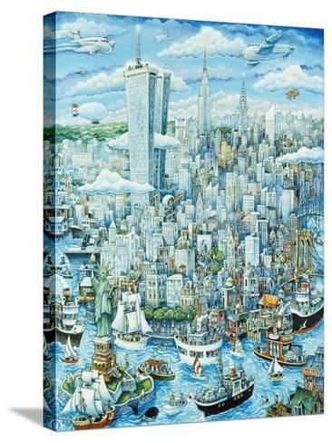 New York, New York-Bill Bell-Stretched Canvas Print
