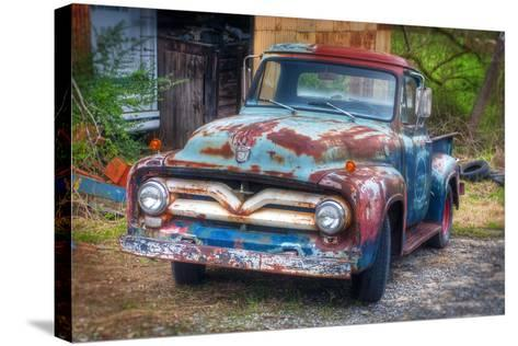 Ford Truck-Bob Rouse-Stretched Canvas Print