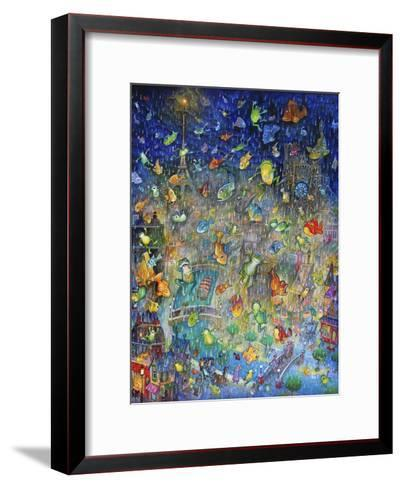 Raining Frogs and Fishes-Bill Bell-Framed Art Print