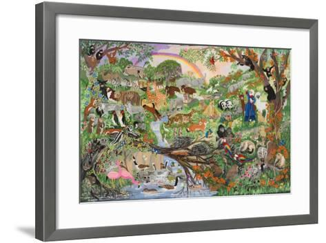 Noah's Rainbow #5-Carol Salas-Framed Art Print