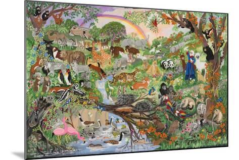 Noah's Rainbow #5-Carol Salas-Mounted Giclee Print